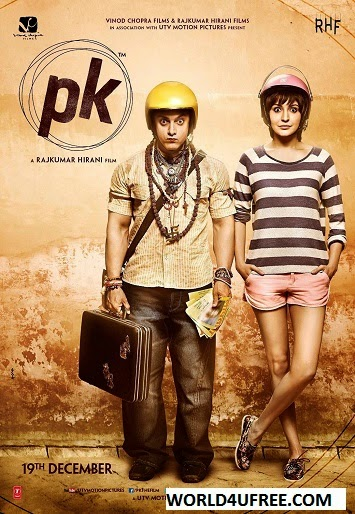 PK 2014 Hindi 480p BrRip 450MB bollywood movie PK hindi movie PK 300mb 480p 350mb hdrip, dvd rip, brrip bluray, free download or watch online at world4ufree.be