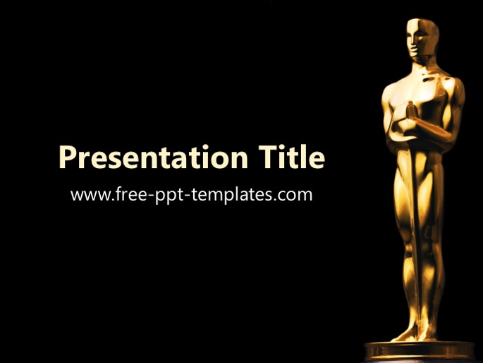 Oscar powerpoint template toneelgroepblik Image collections