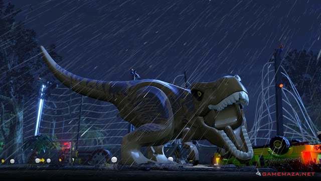 Lego Jurassic World Gameplay Screenshot 1