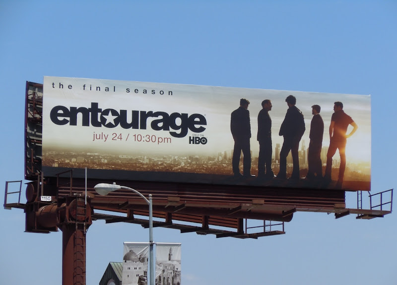 Entourage final season 8 billboard