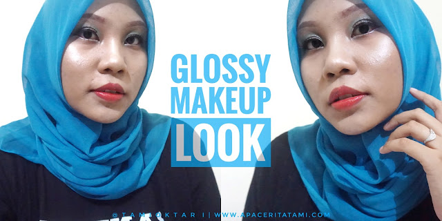 BEAUTIESQUAD COLLAB: Glossy Makeup Look
