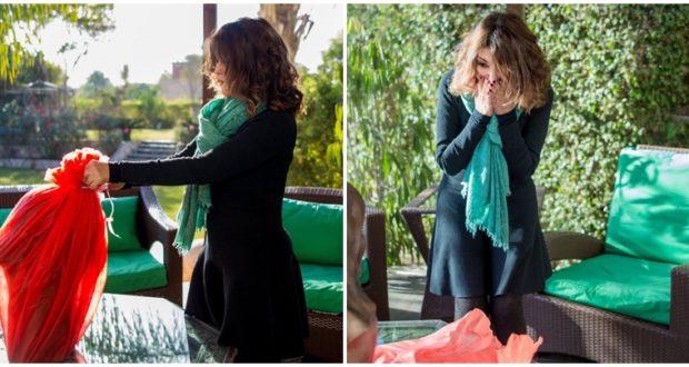 شاهدوا الهدية الفخمة التي تلقتها سميرة سعيد في عيد ميلادها الستين