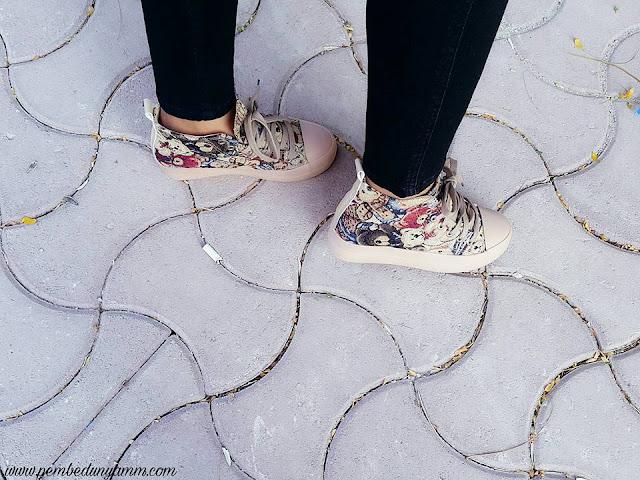 dolgu topuk sneakers