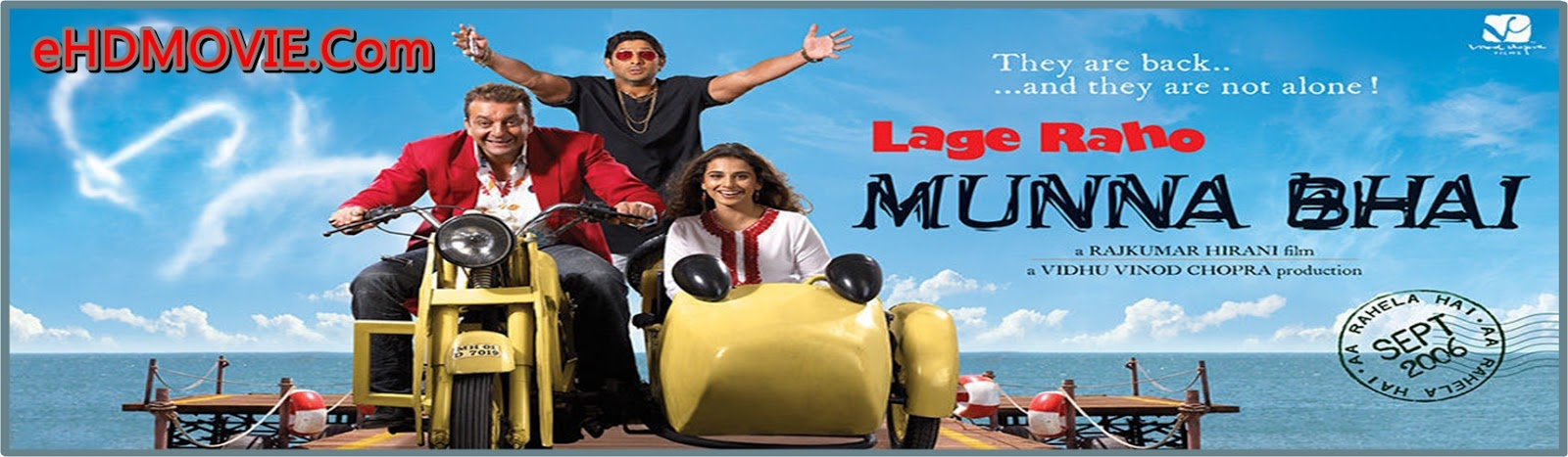 Lage Raho Munna Bhai 2006 Full Movie Hindi 720p - 480p ORG HDRip 550MB - 1.3 ESubs Free Download