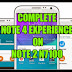 Rom Note2 N7100 4.4.4 mode Note4 by CWM