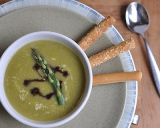 Everyday to Elegant Asparagus Soup