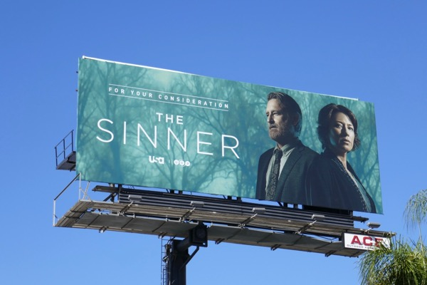 The Sinner season 2 FYC billboard