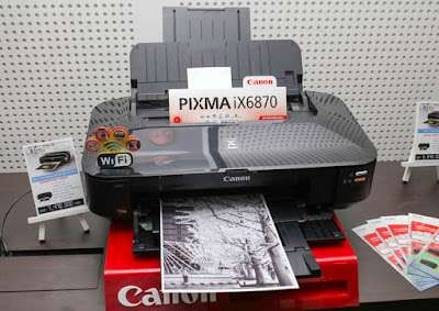 Spesifikasi Printer Canon Pixma iX6870 (A3) Wireles