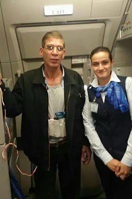 Flight attendant Neira Atef and EgyptAir Hijacker Seif El-Din