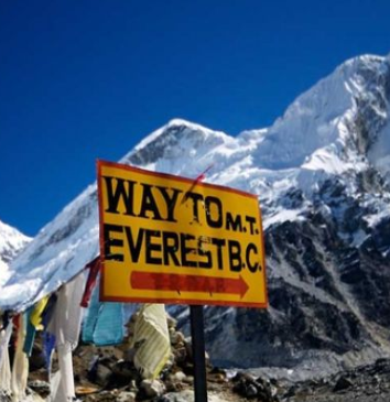 Everest Base Camp Trek -- Way to EBC direction