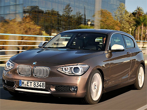 2013 BMW 1-Series 3-door. BMW automotive