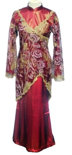 Contoh model abaya untuk pesta