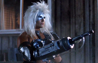 Teagan Clive as the Alienator (1990)