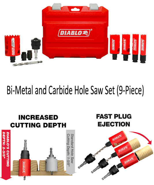 Diablo hole saw tool