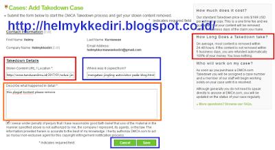 Menghapus Blog Copas dengan DMCA Takedown