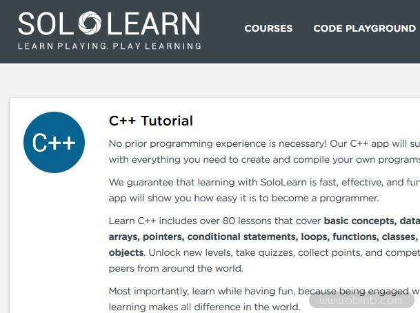 Top những trang web học C++ trực tuyến miễn phí