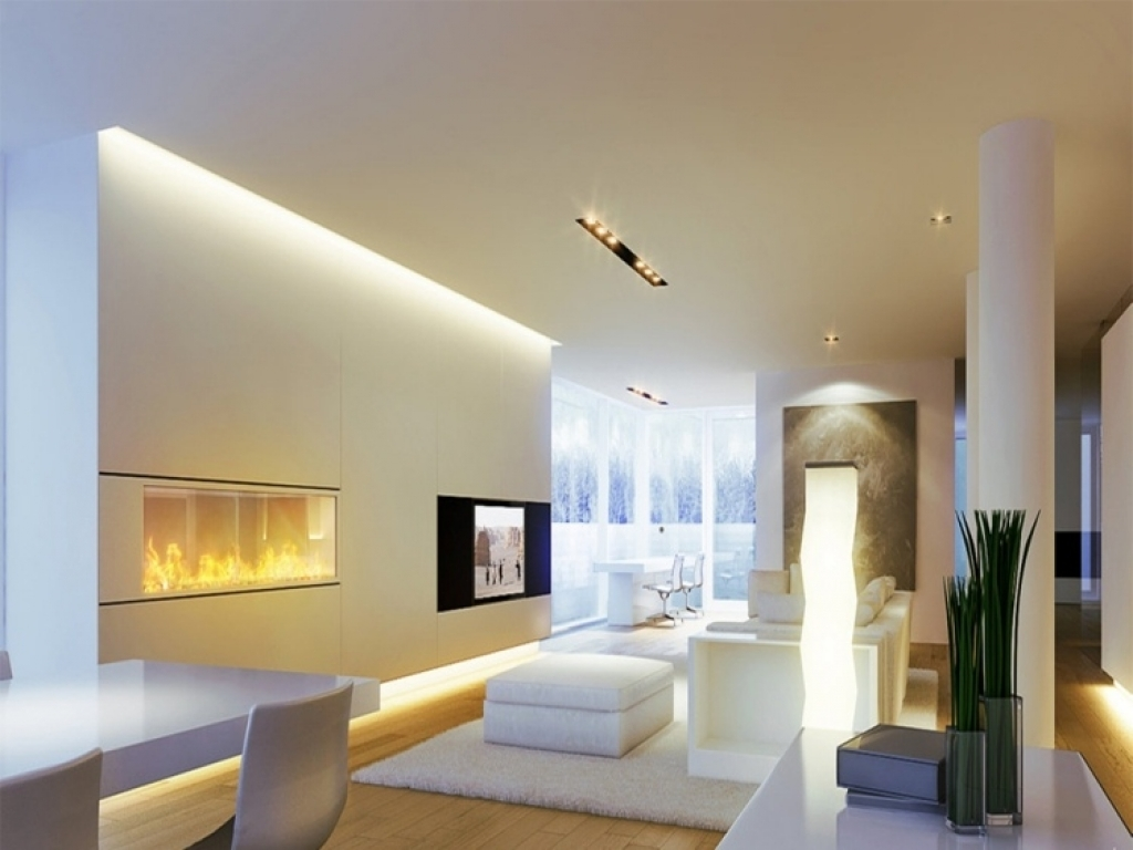 wohnzimmer beleuchtung ideen - Home Creation