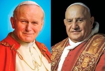 Juan Pablo II es declarado santo y es venerado