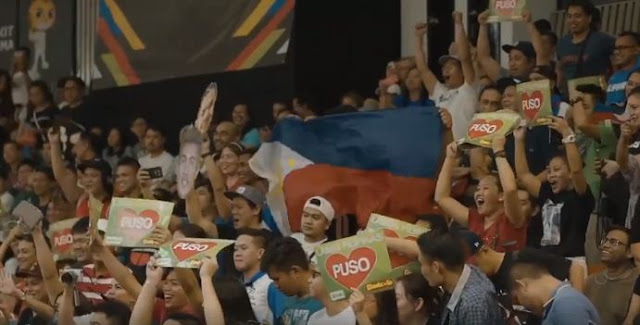 A big cheer for the Philippine Men's and Women's Basketball Team