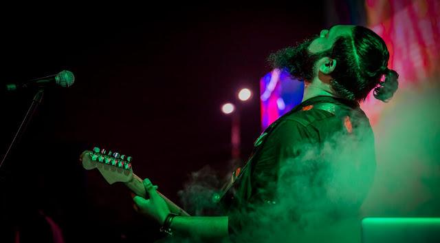 Zahid Ali Qureshi is the lead guitarist in Pakistani Band Tamaasha