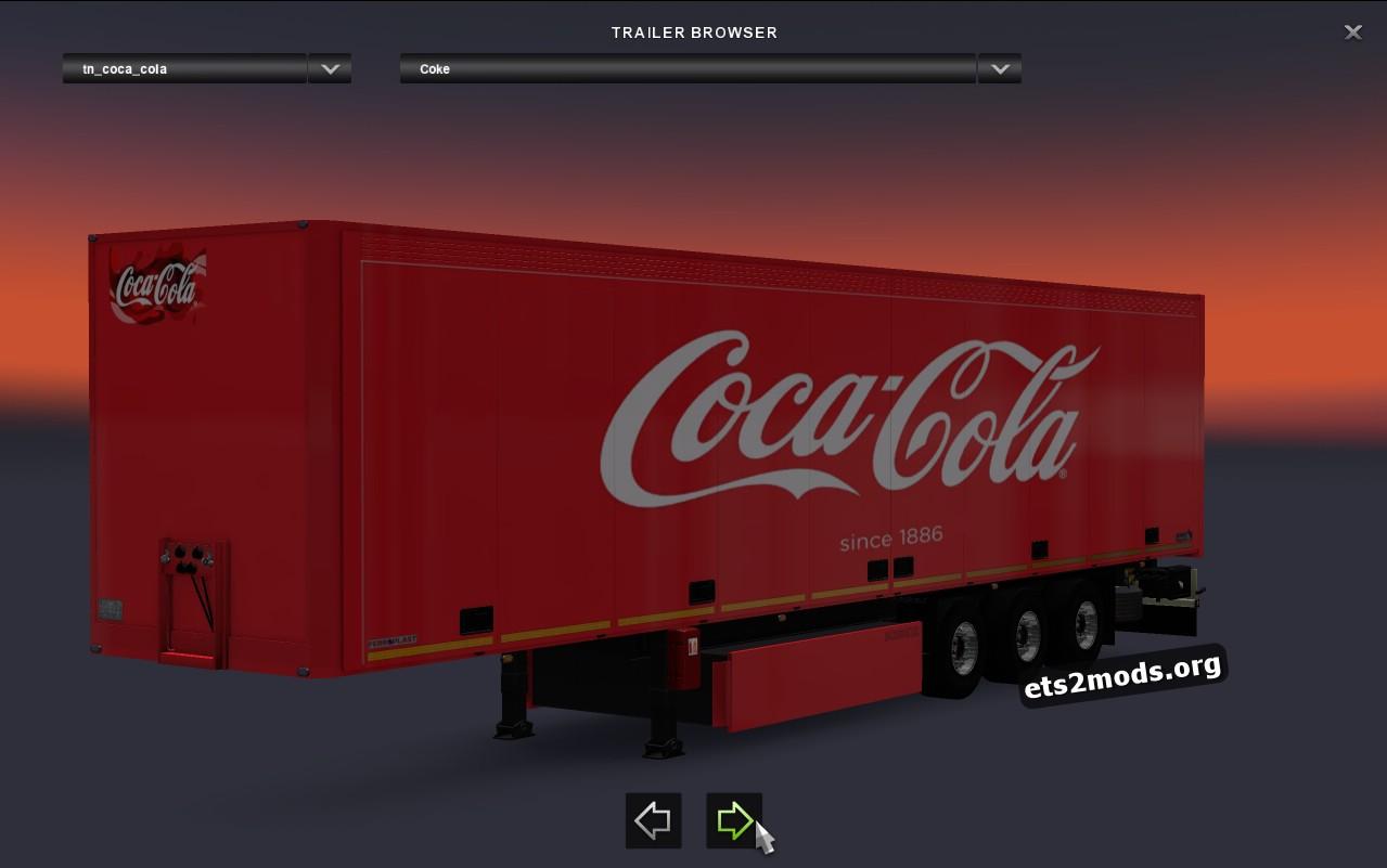 Trailer Coca Cola Schmitz SKO