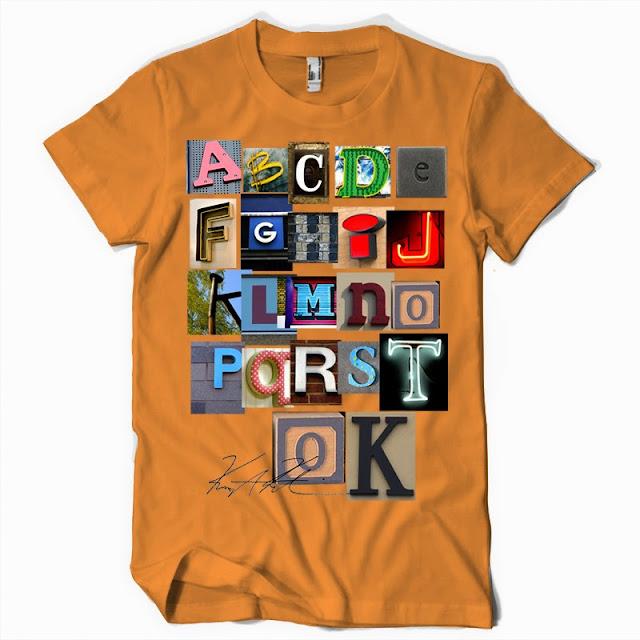 letters tshirts