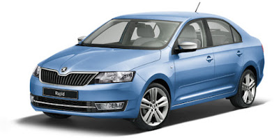 New 2016 Skoda Rapid Facelift Hd Pics