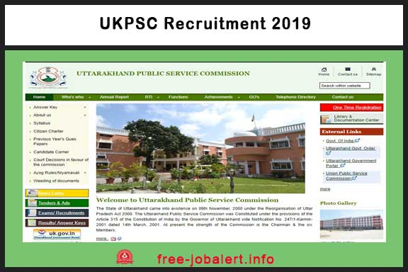 UKPSC Recruitment 2019: Uttarakhand Public Service Commission Recruitment 2019, 30 Application for Civil Judge (Junior Division)