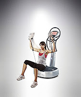 Power Plate my7, sit or stand for a variety of exercises