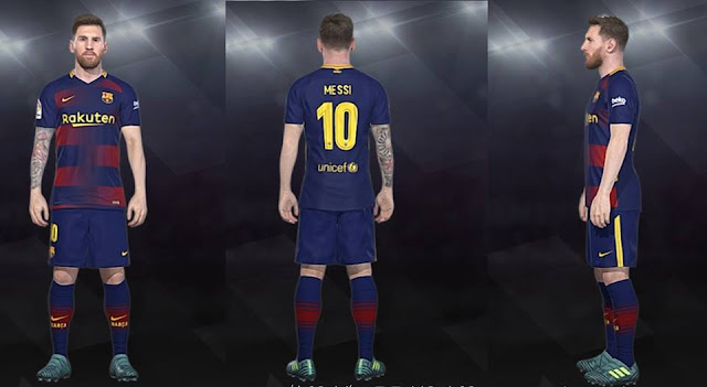 FC Barcelona Fantasy Kits - PES 2018 - PATCH PES