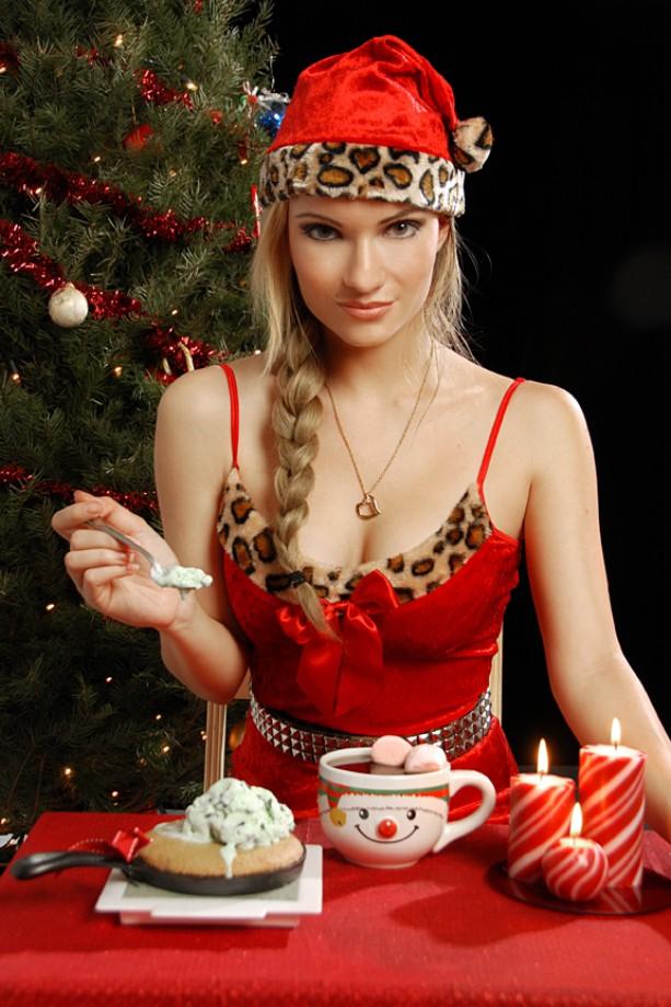 Nude Miss Santa 54