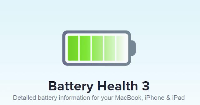 تطبيق Battery Health 3 لمراقبة أداء البطارية لأجهزة ماك و اَيفون/اَباد