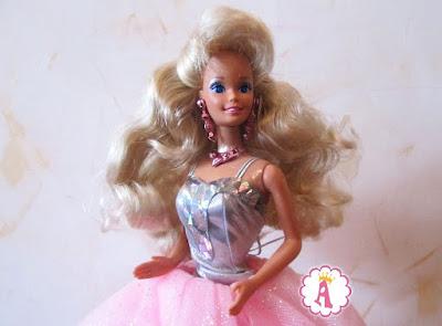 Барби 1991 года с глазами кристаллами