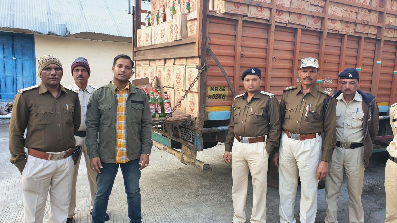 Alirajpur News- Illigal-wine--12-lakh-12 लाख रूपये मूल्य की अवैध शराब जप्त