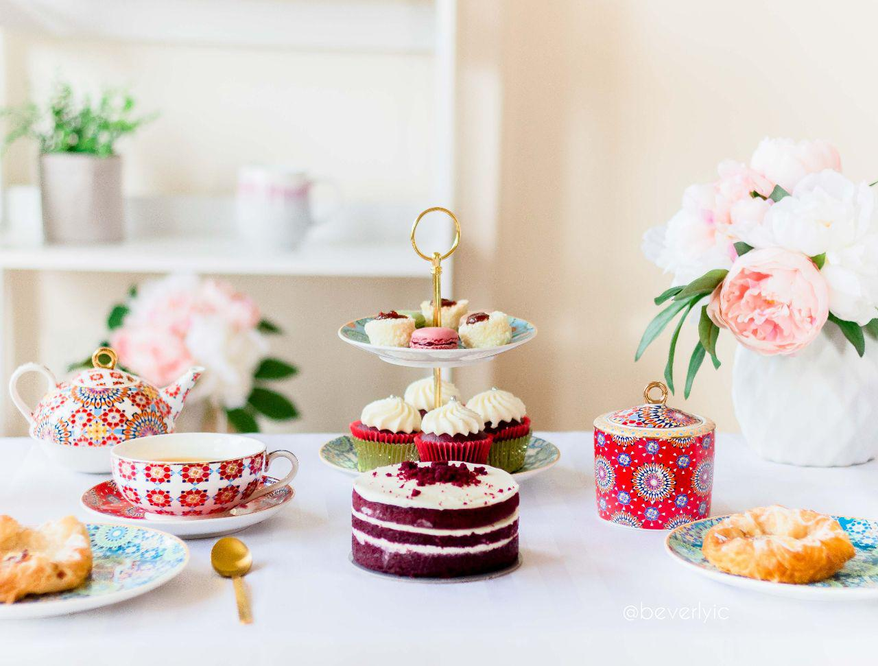 high tea at home