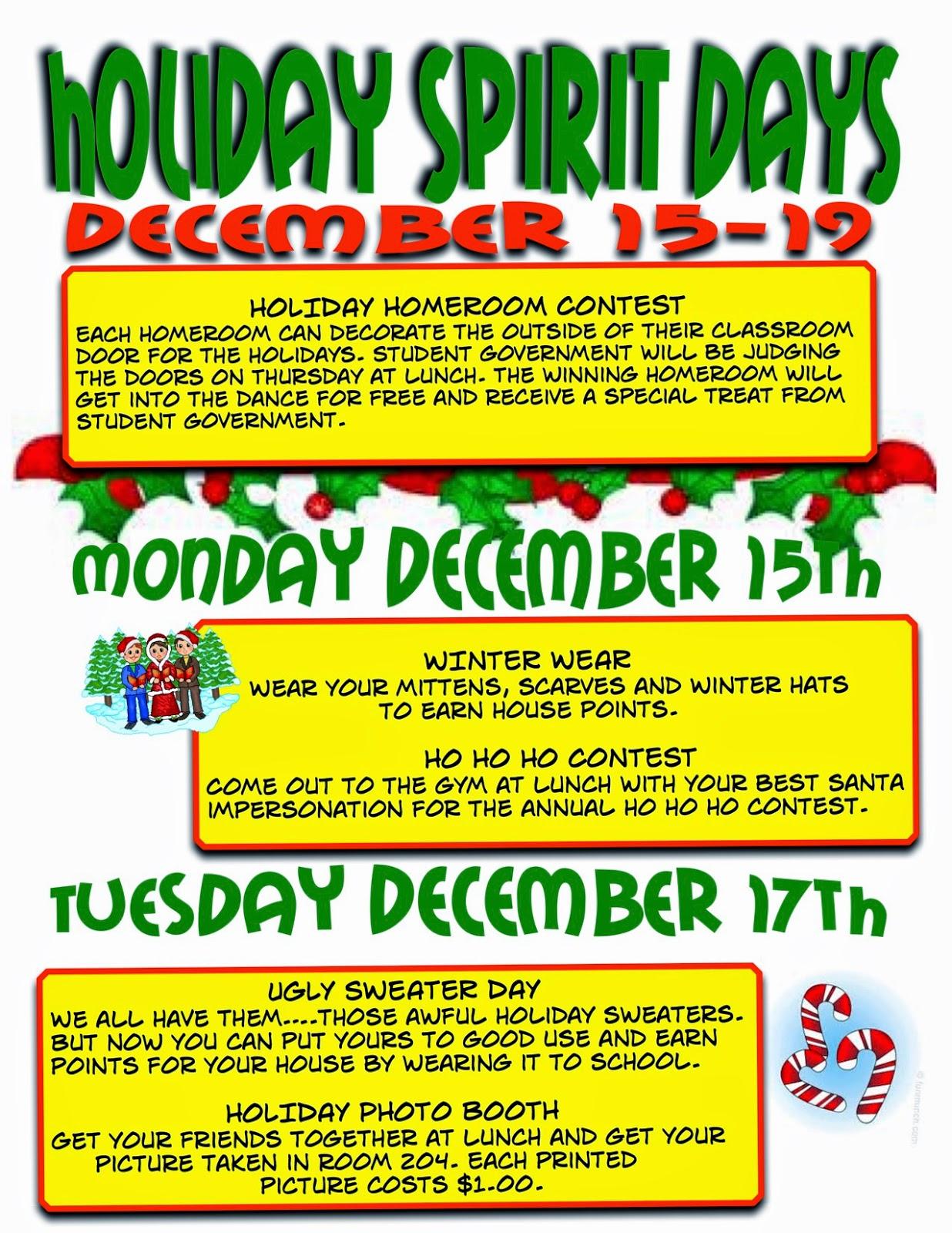 Christmas Spirit Week Ideas For Work.Spirit Day Dress Up Ideas Fashion Tips