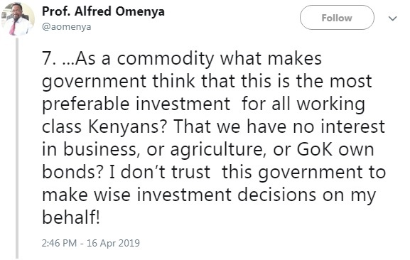 7 - Kenyan Professor breaks down the #HousingFundLevy and reveals how UHURU intends to steal from Kenyans