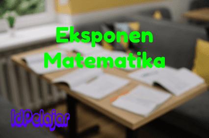 Eksponen Matematika