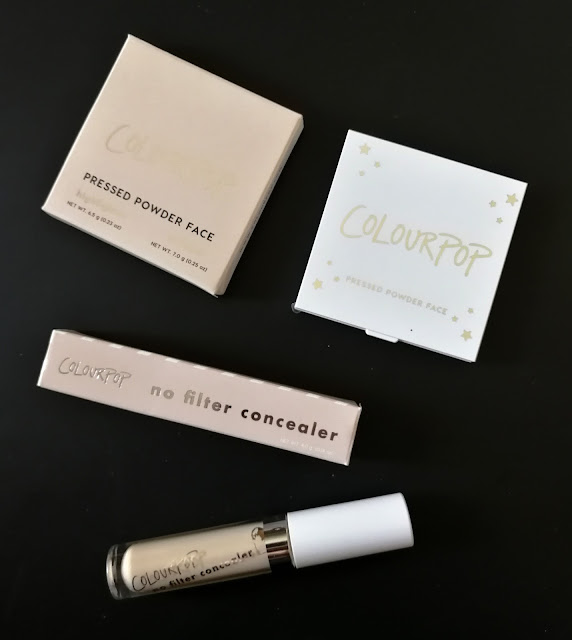 New Highlighter and Concealer Colourpop