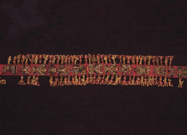 Museum Rietberg Zurich Nasca.Peru Exhibit Textile