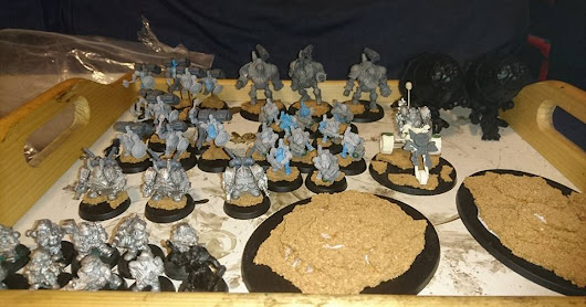 Mostly been painting squats and nids