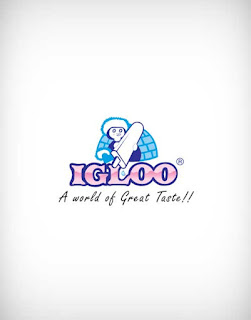 igloo vector logo, igloo logo, restaurant, food court, bar, hotel, ice cream