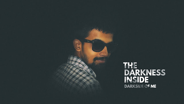 DARK SIDE POSTER | DESIGN WITH PRASHANT