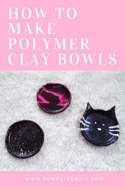 DIY Polymer Clay Bowls