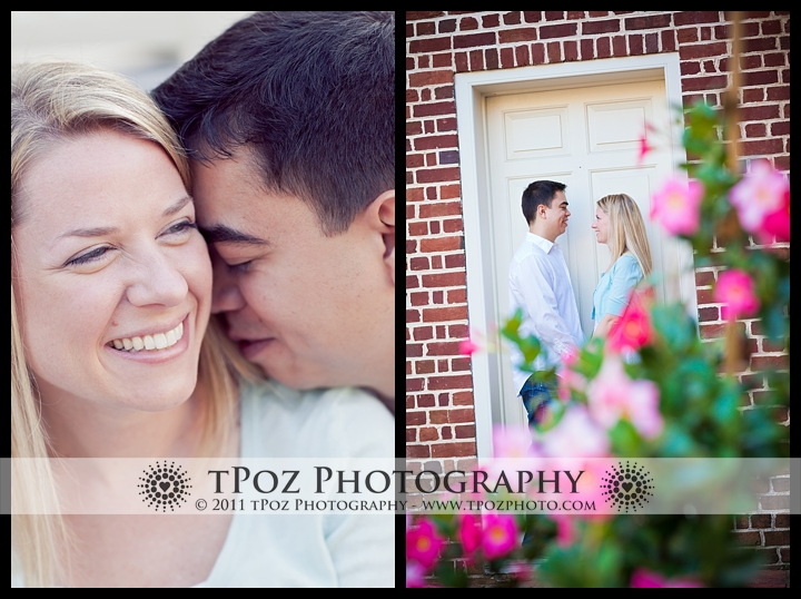 Annapolis Engagement William Paca House