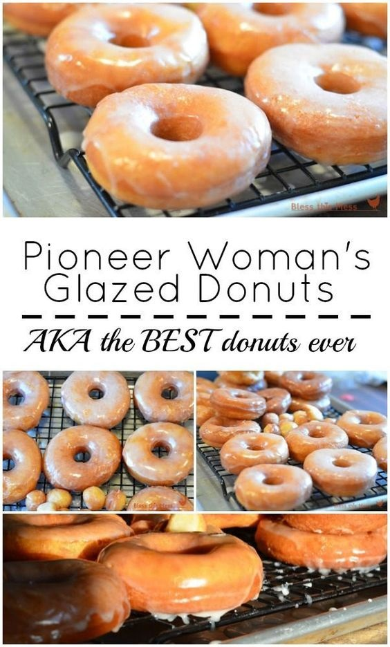 Pioneer Woman's Glazed Donuts