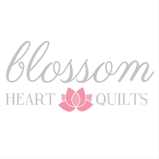 Blossom Hearts Quilts Logo