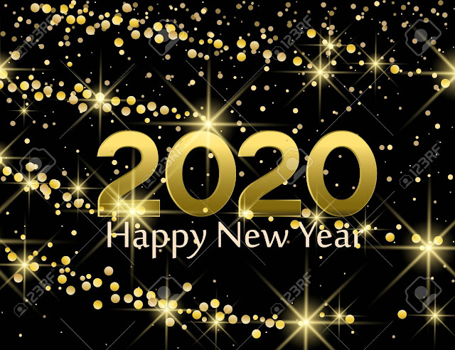 happy new year 2020 felicitare globulete artificii 2020 LA MULŢI ANI, 2020! AN NOU FERICIT! HAPPY NEW YEAR!