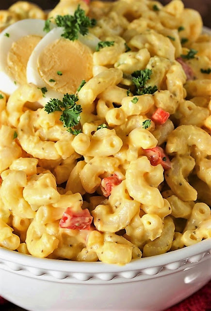 Amish Macaroni Salad Image