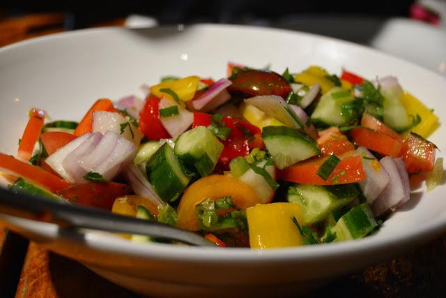 סלט שוק market salad
